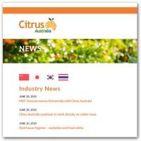 MAF Oceania renouvelle son partenariat avec Citrus Australia