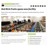 Red Rich Fruits opens new facility