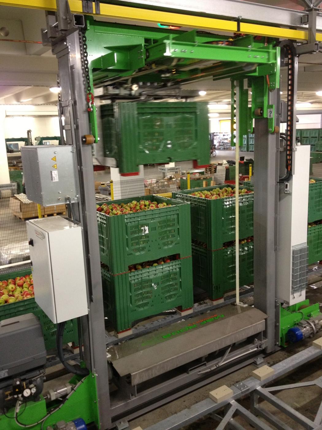 PERLIM - Précalibrage Pommes - Robobin